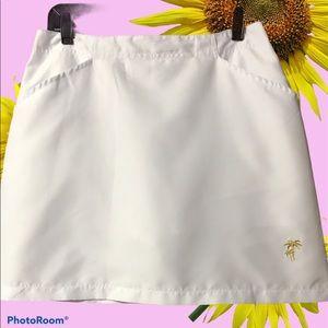 Allyson Whitmore White Golf Skirt Size 8 Petite